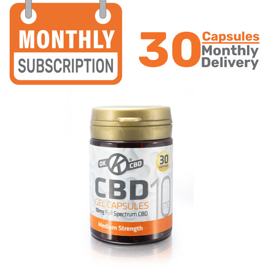 1 Month CBD Capsule Subscription