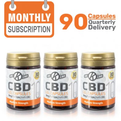 3 Month CBD Capsules Subscription