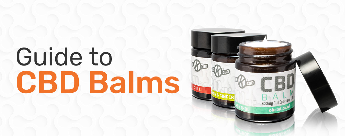 Guide to CBD Balms - Blog Page Header Image