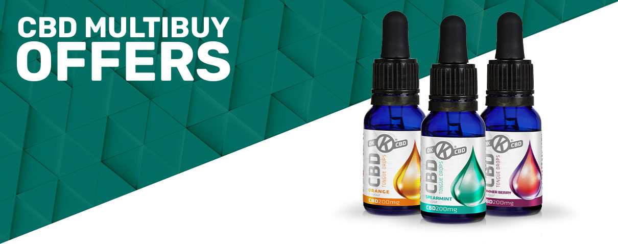 OK CBD Multibuy Offers
